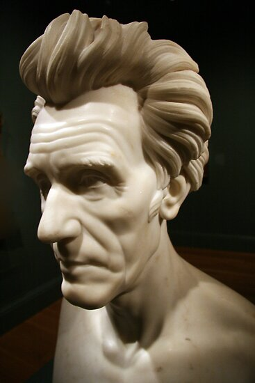 An Andrew Jackson Bust by Cora Wandel