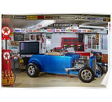 John's 1932 Ford Roadster Hot Rod Poster