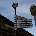 Directions to different parts of the Edinburgh Castle by ashishagarwal74