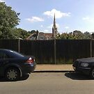 Roehampton Church Spire; a view from Putney Heath by Steven Mace