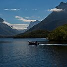 Summer on the lake by Frank Olsen