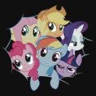 Mane Six (Small) by Xyler