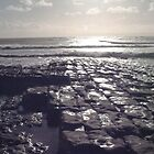 Beach at Llantwit Major by Amanda Clegg