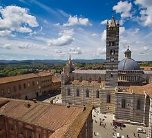 Siena from above by vivsworld