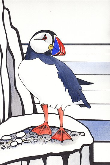 Puffin by Val Spayne