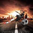 Soccer Girl by Erik Brede