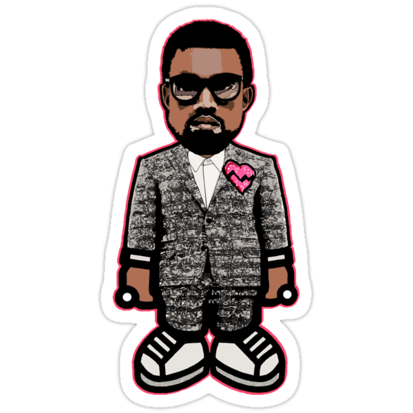 KAYNE WEST: GOOD MUSIC HEARTBREAK by SOL  SKETCHES™