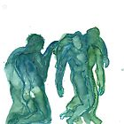 Homage to Rodin by Juliette Jeanclaude