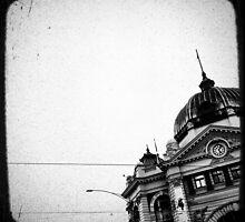 melbourne... fragments: flinders street station by sebastian