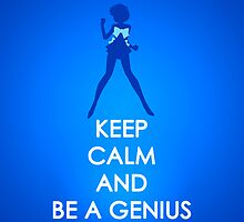 Keep Calm - Sailor Mercury Iphone Case by SimplySM
