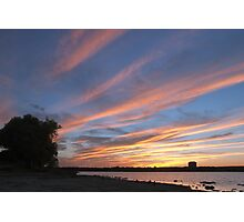Sunset Skyscape over the Ottawa River Photographic Print
