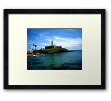 Barra Lighthouse  Framed Print