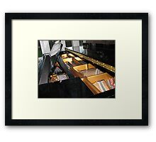 The Heart of a Grand Piano Framed Print