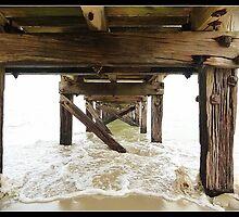 Under the Pier  by Michelle Clarke