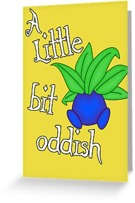 A little bit oddish by nimbusnought
