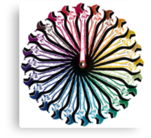 Wrench Color Wheel A Canvas Print