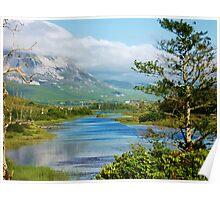 Loch Dun luiche Tir Conaill Poster