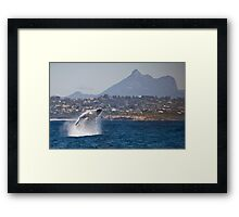 Up & Over #2 with Mt Warning Framed Print