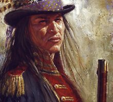 Civilized Warrior, Lakota, Native American Art, James Ayers Studio by JamesAyers
