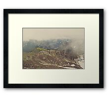 Hit the Trails Framed Print