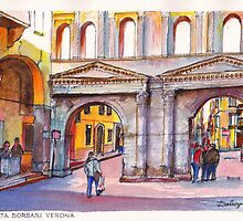 Porta Borsari Verona by Dai Wynn