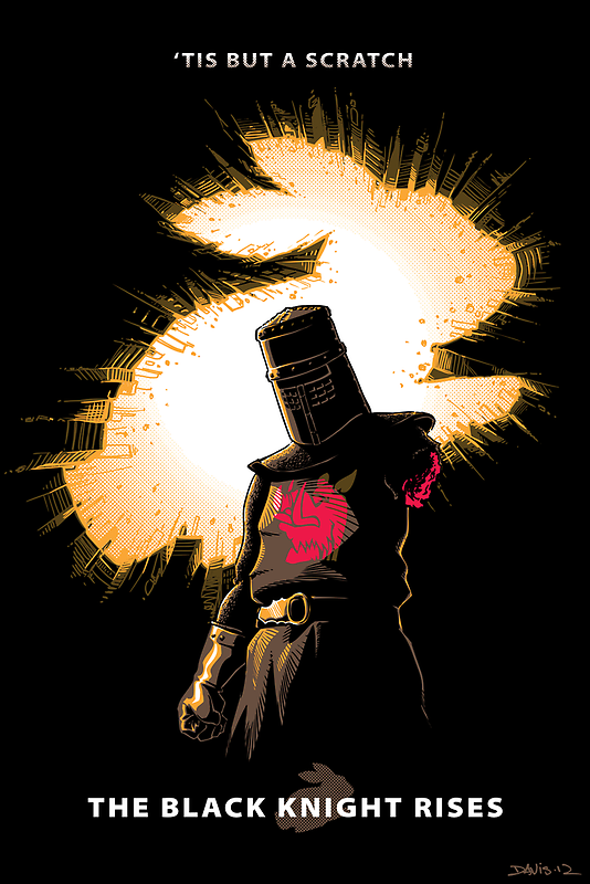 The Black Knight Rises by Nathan Davis