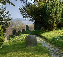 The Graveyard In Spring by Jamie  Green