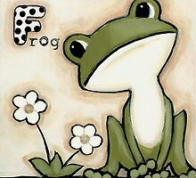 F is for Frog by Shelly  Mundel