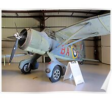 Port Side View - Canadian Lysander Aircraft Poster