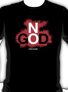 NO GOD T-Shirt