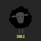 Smile little black sheep by Blacksheepmark