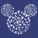 Disney Villains by Narutal
