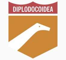 Dinosaur Family Crest: Diplodocoidea by David Orr