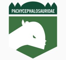 Dinosaur Family Crest: Pachycephalosauridae by David Orr