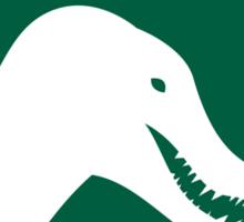 Dinosaur Family Crest: Spinosauridae Sticker