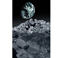 meteor or comet on its way to earth Photographic Print