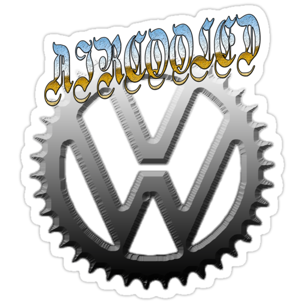 VW GEAR Aircooled 0001 by thatstickerguy