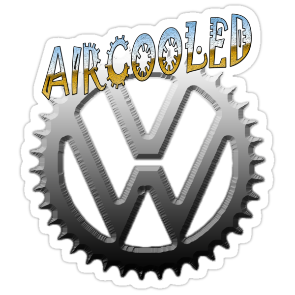 VW GEAR Aircooled 0002 by thatstickerguy