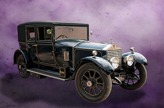 1924 Rolls Royce Twenty by David J Knight