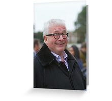 Christopher Biggins at the RHS Chelsea Flower show 2012 Greeting Card