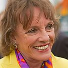 Esther Rantzen at the RHS Chelsea flower show 2012 by Keith Larby