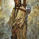 Kiowa Cradleboard, Kiowa, Native American Art, James Ayers Studios by JamesAyers