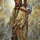 Kiowa Cradleboard, Kiowa, Native American Art, James Ayers Studios by JamesAyers