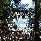 Bible Quote poster by Ezra-David Saul
