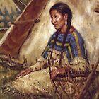 An Idle Moment, Blackfoot, James Ayers Studios by JamesAyers