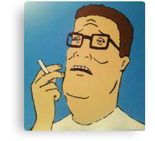 Hank Hill Canvas Print