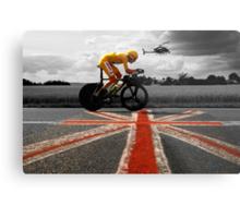 Bradley Wiggins, Tour de France Champion 2012 Metal Print