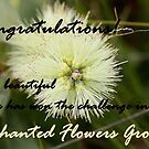 Enchanted Flowers, Challenge Winner Banner by cathywillett