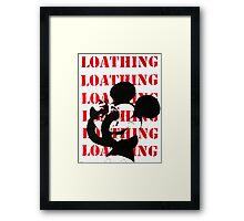 Mickey Mouse Self Loathing Framed Print
