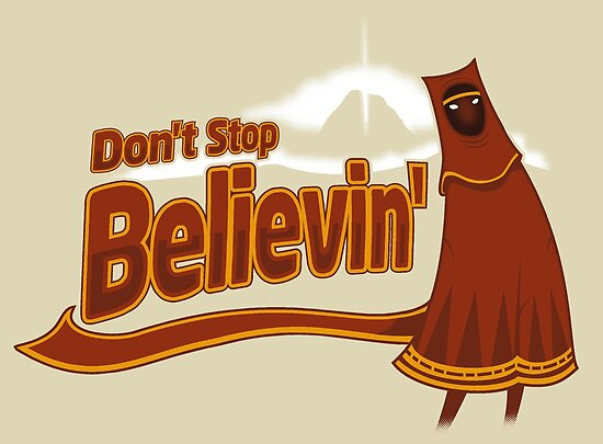 Don&#x27;t Stop Believin&#x27; by Adho1982